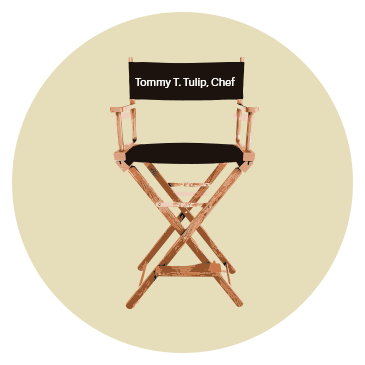 Castingstuhl Tommy T. Tulip