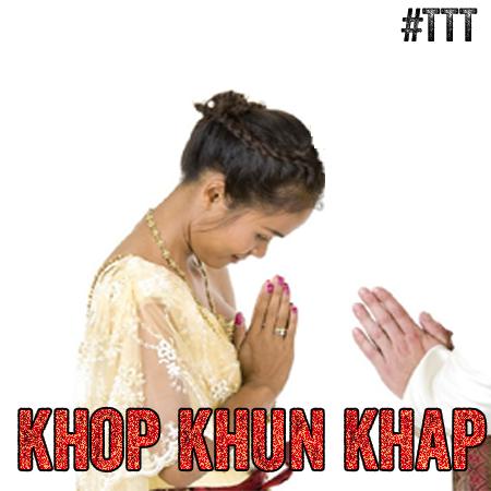 Danke schön #Thai #Khopkhunkhap