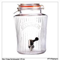 KILNER | VINTAGE Getränkespender 5/8 Liter (Produktfoto Hersteller, Nachbearbeitung) #TTT #Tulipstagram